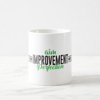 Aim For Improvement Mug