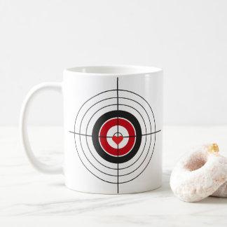 Aim for The Heart Coffee Mug