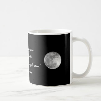 Aim for the moon... coffee mug