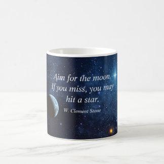 Aim for the moon mug