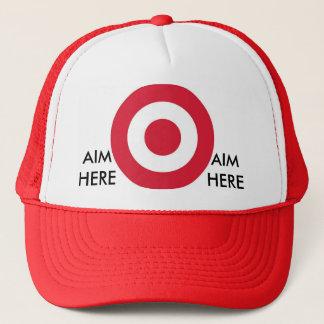 Aim here cap