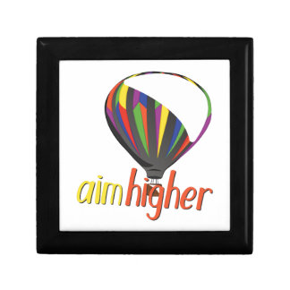 Aim Higher Small Square Gift Box