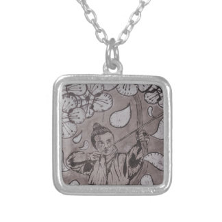 Aim True By Carter L. Shepard Silver Plated Necklace