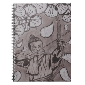 Aim True By Carter L. Shepard Spiral Notebook