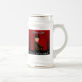 Aimee love beer jug coffee mug