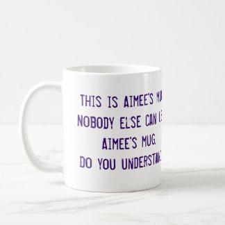 Aimee's Mug