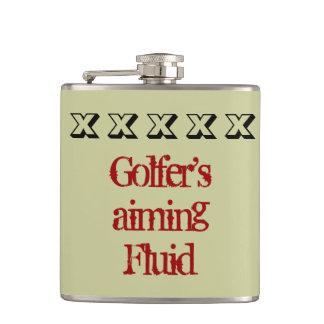 Aiming fluid flask