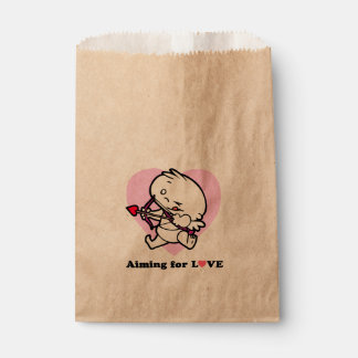 Aiming for Love Baby Cupid Favor Bag