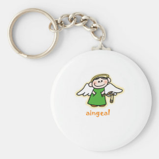 aingeal (little angel in Irish) Key Ring