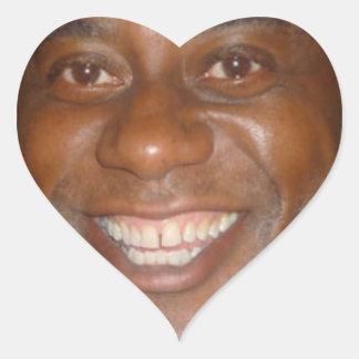 Ainsley Harriot Heart Sticker