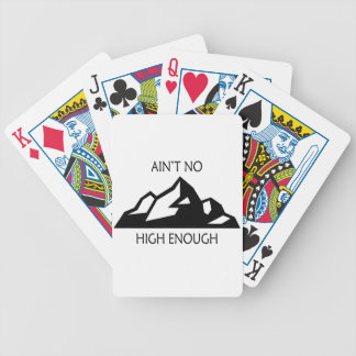 Ain't No Mountain High Enough Bicycle Playing Cards