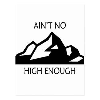 Ain't No Mountain High Enough Postcard