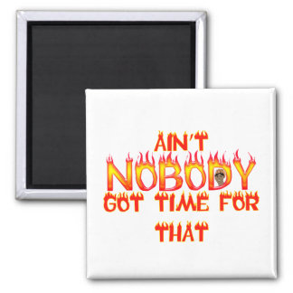 Ain't Nobody Got Time Sweet Brown Magnet