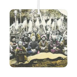 Ainu People of Northern Japan Vintage Vilage Life