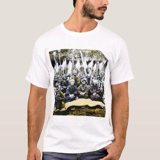 Ainu People of Northern Japan Vintage Vilage Life T-Shirt