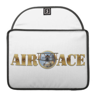 Air Ace Logo Sleeves For MacBooks