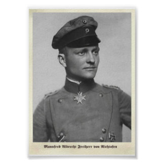 Air Aces: Mannfred von Richtofen - The Red Baron Poster