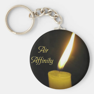 Air_Affinity Basic Round Button Key Ring