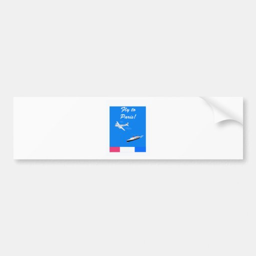 Air and ship Vintage Travel Bumper Stickers