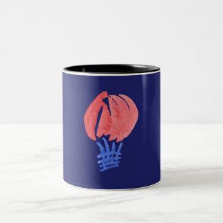 Air Balloon Black 11 oz Two-Tone Mug