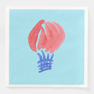 Air Balloon Dinner Paper Napkins