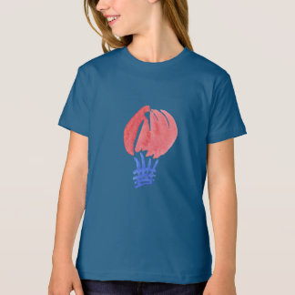 Air Balloon Girls' Organic T-Shirt