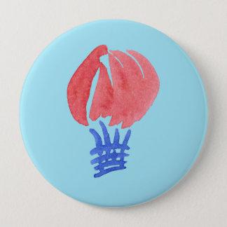 Air Balloon Huge Round Button
