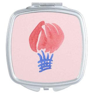 Air Balloon Square Compact Mirror