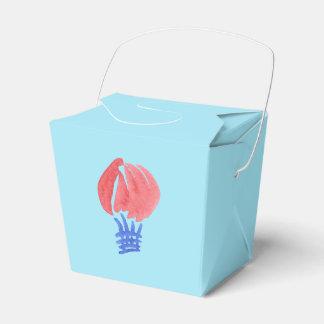 Air Balloon Take Out Favor Box