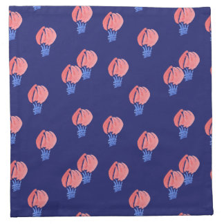 Air Balloons Cocktail Cloth Napkins