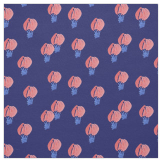 Air Balloons Cotton Twill Fabric