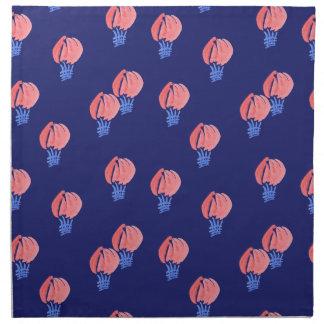 Air Balloons Dinner Cloth Napkins