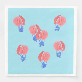 Air Balloons Dinner Paper Napkins
