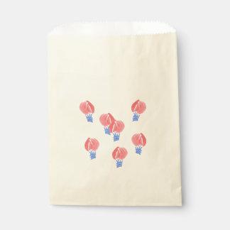 Air Balloons Favor Bag