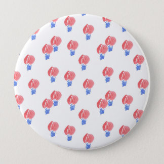 Air Balloons Huge Round Button