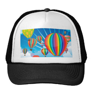 Air Balloons in the Sky 3 Cap