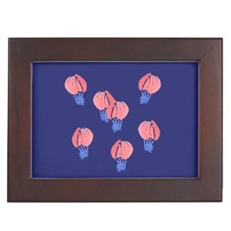 Air Balloons Keepsake Box