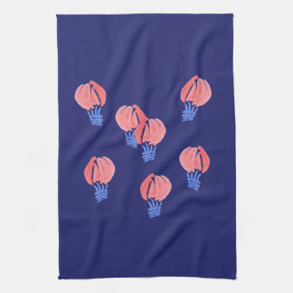 Air Balloons Kitchen Towel