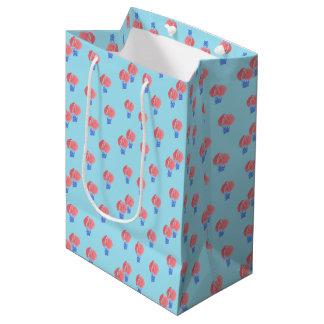 Air Balloons Medium Glossy Gift Bag