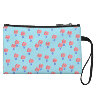 Air Balloons Mini Clutch Wristlet