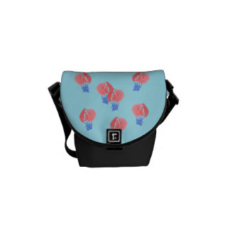 Air Balloons Mini Messenger Bag