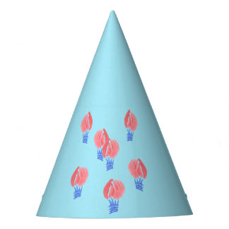 Air Balloons Party Hat