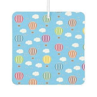 Air Balloons Pattern Car Air Freshener