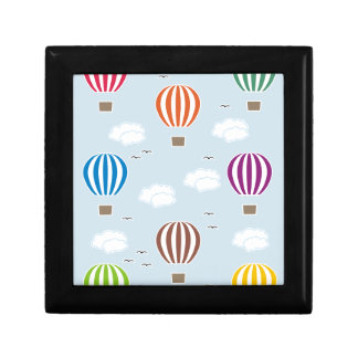 Air Balloons Pattern Gift Box
