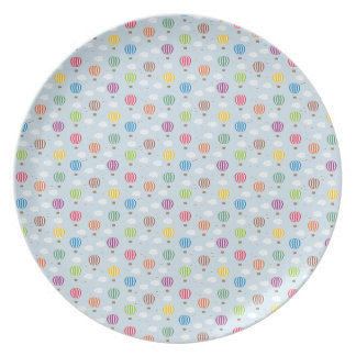 Air Balloons Pattern Plate