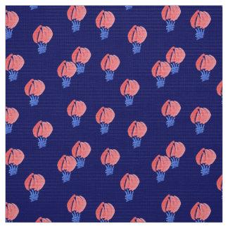 Air Balloons Polyester Poplin Fabric