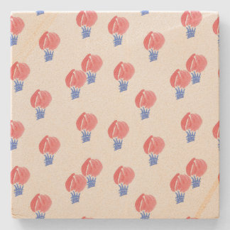 Air Balloons Sandstone Coaster