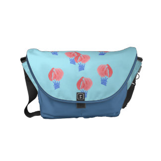 Air Balloons Small Messenger Bag