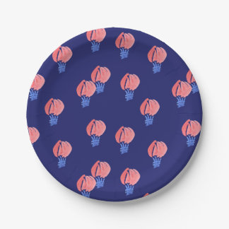 Air Balloons Small Paper Plate