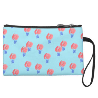 Air Balloons Sueded Mini Clutch